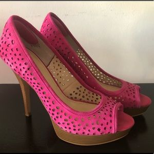 Real Leather Enzo Angiolini High Heels